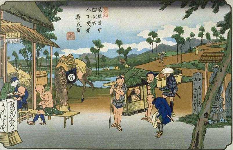 Điểm qua các phương tiện di chuyển của người Nhật thời xưa