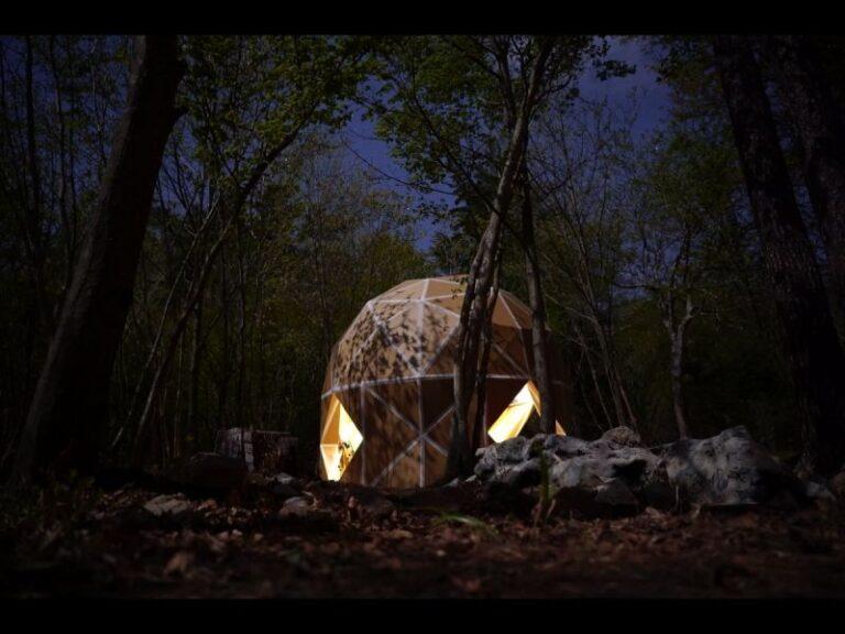 Mái vòm Dan Dan – chiếc lều độc đáo làm bằng Carton siêu bền