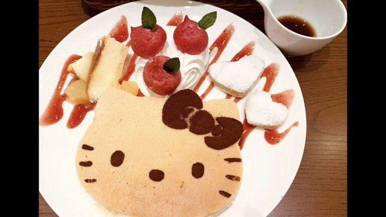 Ghé thăm quán cà phê Hello Kitty