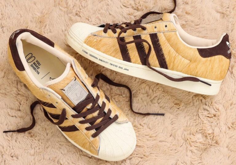 Giày thể thao Adidas Hachiko – lấy cảm hứng từ chú chó trung thành nổi tiếng của Nhật Bản