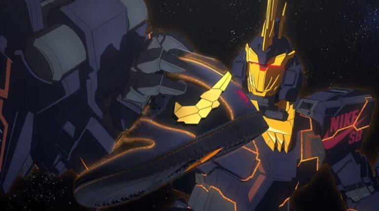 Nike Nhật ra mắt Siêu phẩm mới Gundam UC x Nike SB kèm theo cả video Anime!