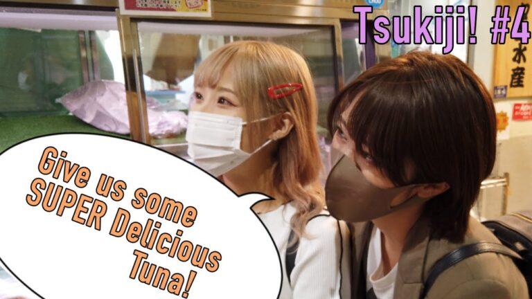 Trải nghiệm đi chợ Tsukiji #4: Ngất ngây trong thiên đường các loại Sashimi cá ngừ