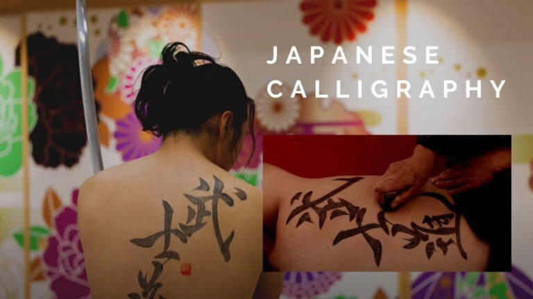 Chiêm ngưỡng nghệ thuật thư pháp tuyệt đẹptừ nghệ nhân Nhật Bản
